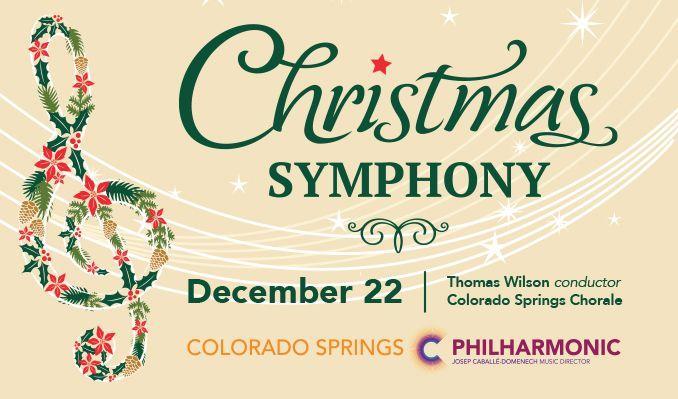 Colorado Springs Christmas 2019.Christmas Symphony Tickets In Colorado Springs At Pikes Peak