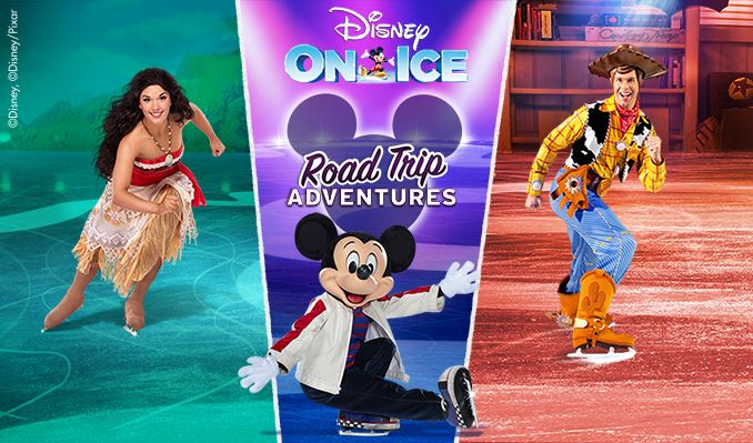 Disney On Ice presents Road Trip Adventures tickets at Rocket Mortgage FieldHouse, Cleveland