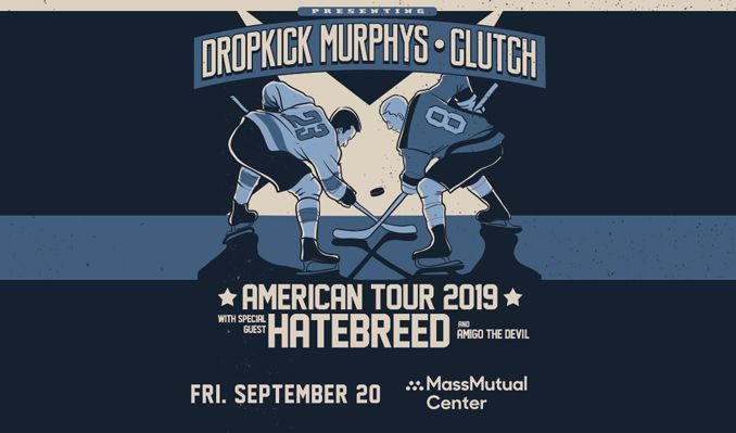 Dropkick Murphys and Clutch tickets at MassMutual Center in Springfield