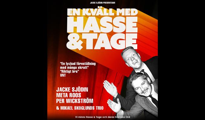 En kväll med Hasse & Tage tickets at Reginateatern, Uppsala