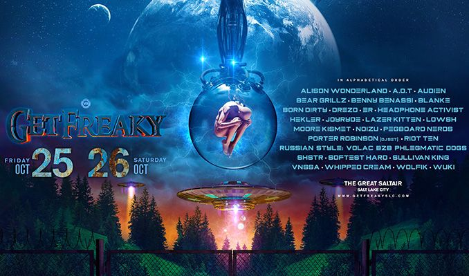 Get Freaky 2019 tickets at SaltAir in Magna