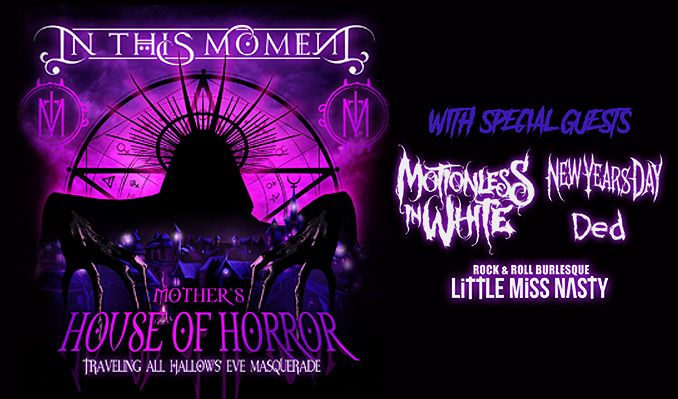 In This Moment tickets at Convention Hall in Asbury Park