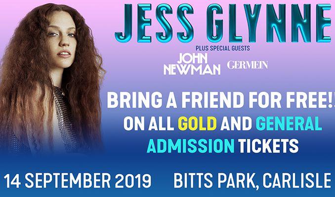 Jess Glynne tickets at Bitts Park in Carlisle
