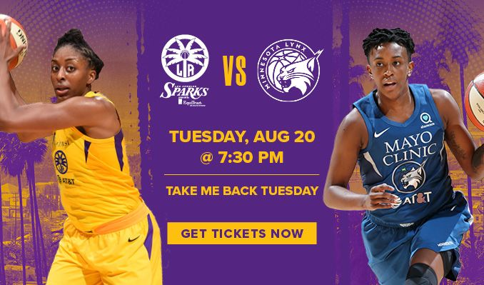 Los Angeles Sparks 2019 Season tickets
