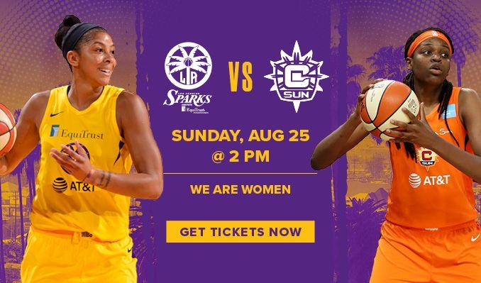 Los Angeles Sparks 2019 Season tickets