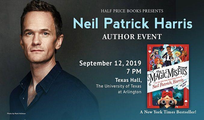 Neil Patrick Harris tickets at Texas Hall in Arlington