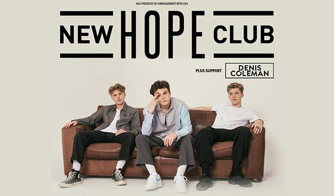 New Hope Club tickets at Stylus Leeds in Leeds