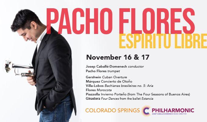 Pacho Flores: Espiritu Libre tickets at Pikes Peak Center in Colorado Springs