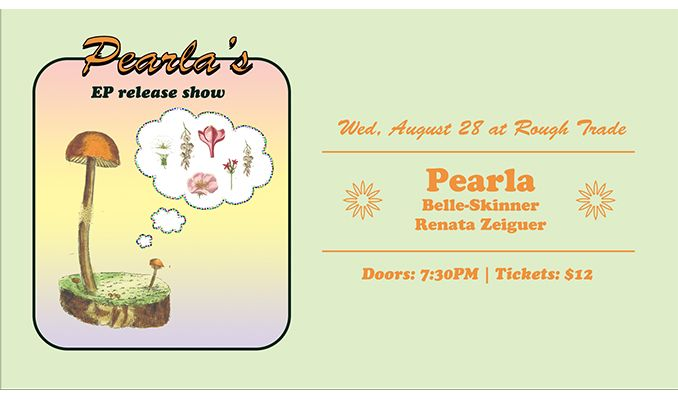 Pearla (EP Release) tickets at Rough Trade NYC in Brooklyn