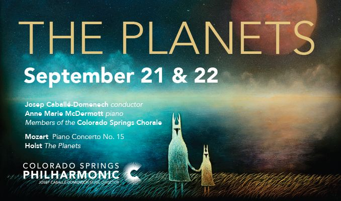 The Planets tickets at Pikes Peak Center in Colorado Springs