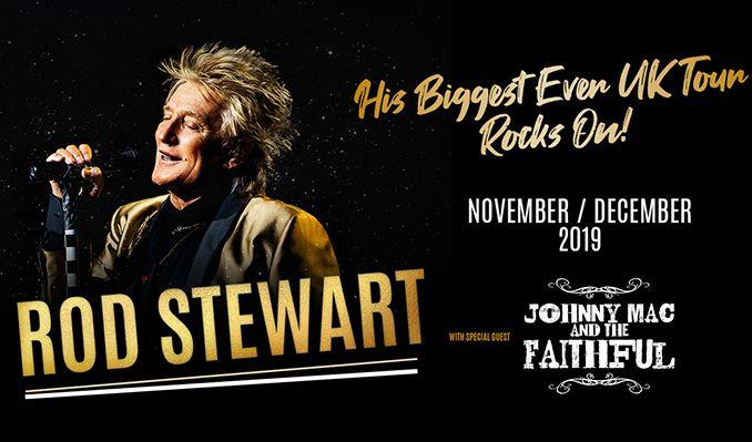 Rod Stewart tickets at first direct arena in Leeds