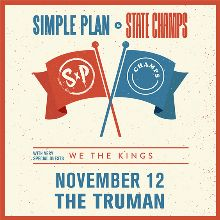 Simple Plan & State Champs tickets at The Truman in Kansas City