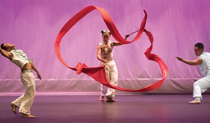 Ribbon Dance of Empowerment: Chinese Dance through the eyes of an American tickets at Infinite Energy Theater in Duluth