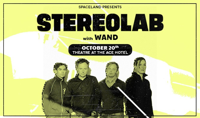 Stereolab tickets at The Theatre at Ace Hotel in Los Angeles
