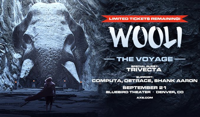 Wooli tickets at Bluebird Theater in Denver