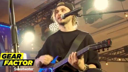 Watch: 5 Seconds of Summer's Michael Clifford shows off his favorite guitar riffs