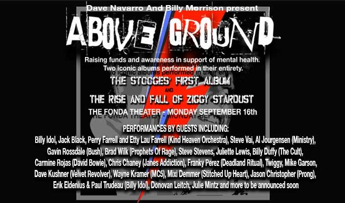 Above Ground tickets at Fonda Theatre in Los Angeles
