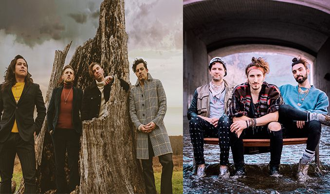 AMERICAN AUTHORS and MAGIC GIANT tickets at The Showbox in Seattle