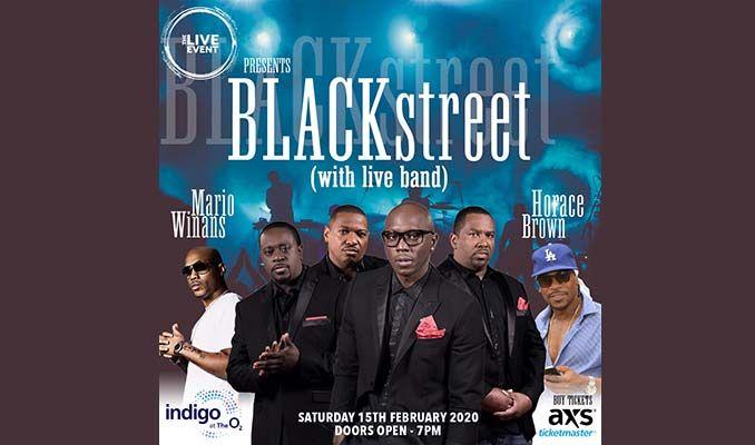 Blackstreet, Mario Winans & Horace Brown tickets at indigo at The O2 in London