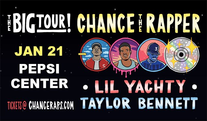 Chance The Rapper tickets at Pepsi Center in Denver