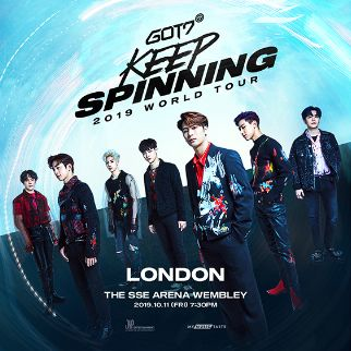"GOT7 2019 World Tour ""KEEP SPINNING"" in London"