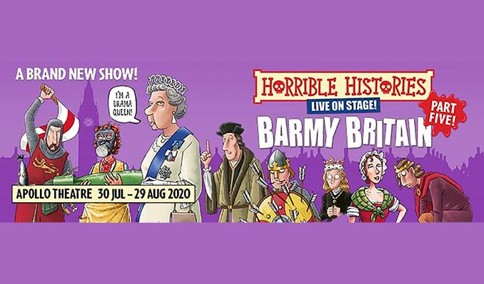 Horrible Histories tickets at Apollo Theatre, London