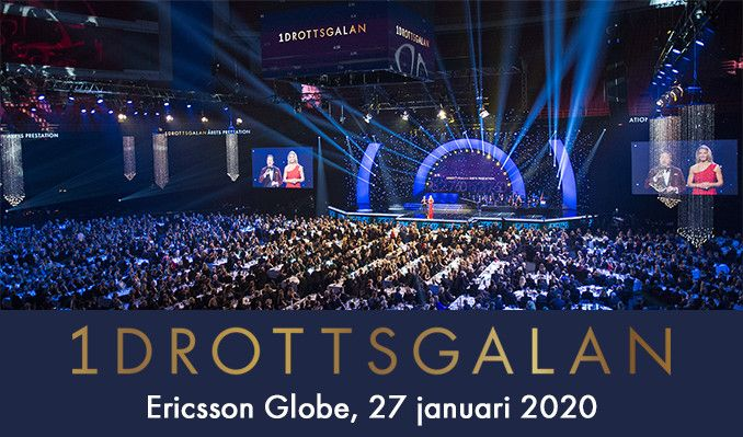 Idrottsgalan tickets at ERICSSON GLOBE/Stockholm Live in Stockholm
