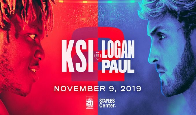 KSI vs  Logan Paul tickets in Los Angeles at STAPLES Center