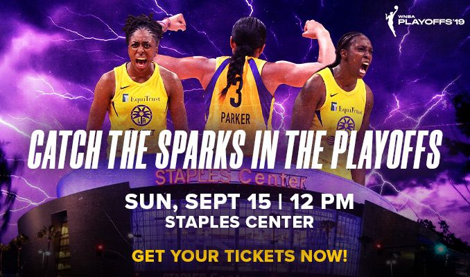 LA Sparks vs Seattle Storm tickets at STAPLES Center in Los Angeles