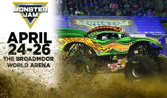 Monster Jam Arena Tour tickets at Broadmoor World Arena in Colorado Springs