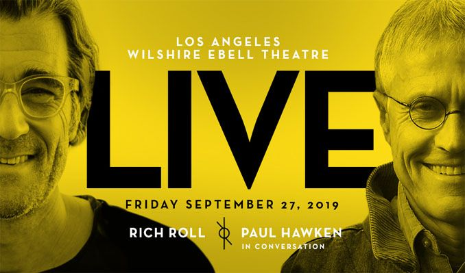 Rich Roll & Paul Hawken Live In Conversation tickets at Wilshire Ebell Theatre in Los Angeles