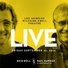 Rich Roll Live tickets in Los Angeles at Wilshire Ebell