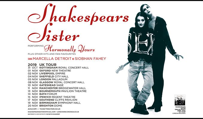 Shakespears Sister tickets at Glasgow Royal Concert Hall, Glasgow