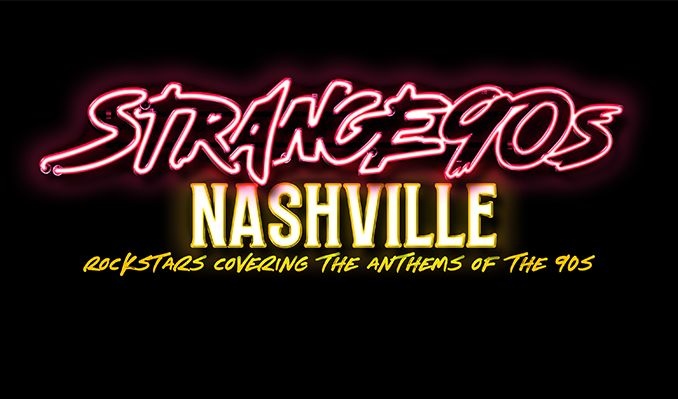 Strange 90s with Jeffrey Steele, Ira Dean, Matt Warren, James Otto, Dez Dickerson and many more to come tickets at Marathon Music Works in Nashville