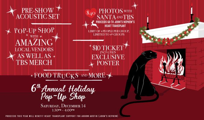 Taking Back Sunday's 6th Annual Holiday Pop-Up Shop