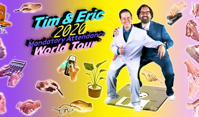 Tim and Eric tickets at Chicago Theatre, Chicago
