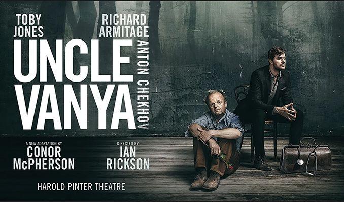 Uncle Vanya tickets at Harold Pinter Theatre, London