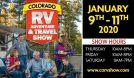 Colorado RV Adventure & Travel Show tickets at Colorado Convention Center in Denver