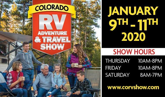Denver Rv Show 2020.Colorado Rv Adventure Travel Show Tickets In Denver At