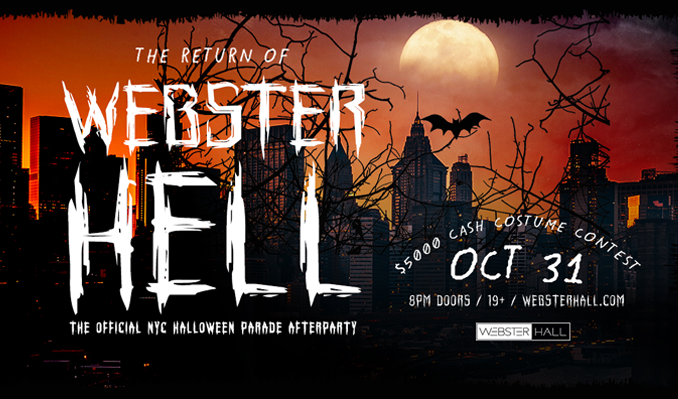 Webster Hell tickets at Webster Hall in New York