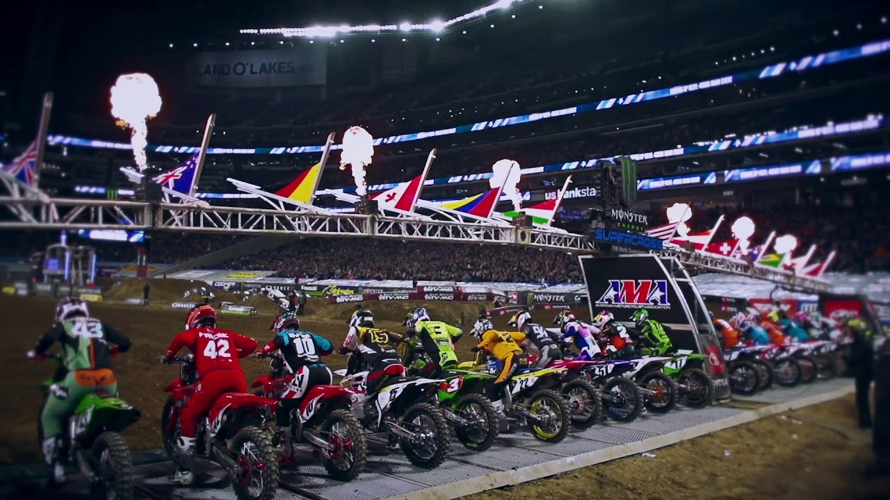 2020 Monster Energy AMA Supercross & Supercross Futures tickets and event schedules announced