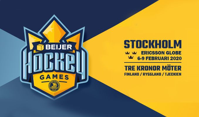 Beijer Hockey Games tickets at ERICSSON GLOBE/Stockholm Live in Stockholm