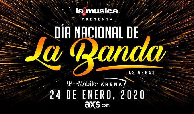 Elo Tour Dates 2020.Dia Nacional De La Banda Tickets In Las Vegas At T Mobile