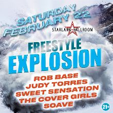 Freestyle Explosion featuring Rob Base, Judy Torres, Sweet Sensation, The Cover Girls, and Soave tickets at Starland Ballroom in Sayreville