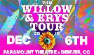 Jaden Smith and Willow Smith tickets at Paramount Theatre in Denver