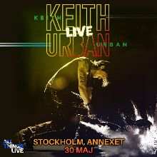 Keith Urban tickets at ANNEXET/Stockholm Live in Stockholm