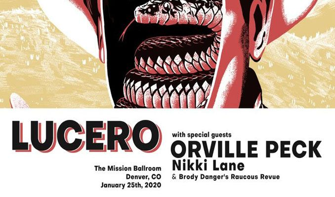 Lucero Block Party West tickets at Mission Ballroom in Denver