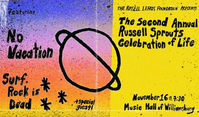 No Vacation, Surf Rock Is Dead tickets at Music Hall of Williamsburg in Brooklyn