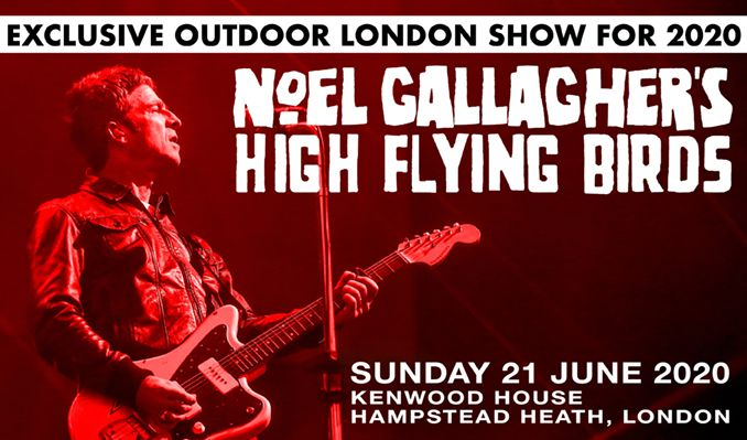 Noel Gallagher's High Flying Birds tickets at Kenwood House in London
