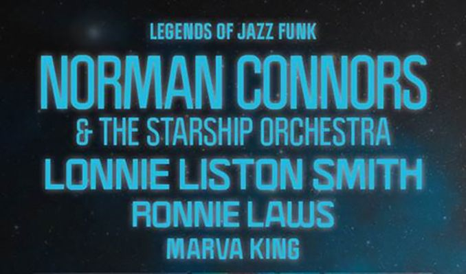 Norman Connors & The Starship Orchestra tickets at indigo at The O2, London
